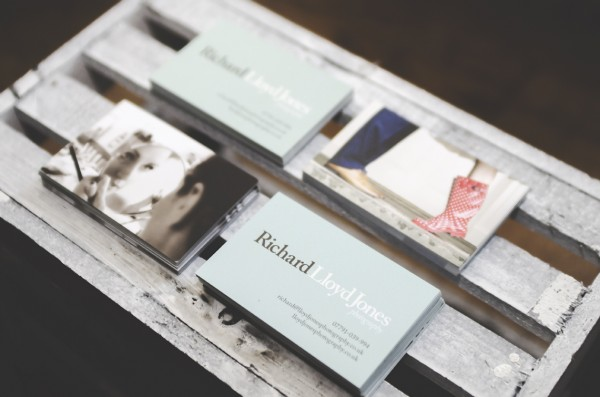 Richard Lloyd Jones Photography business cards