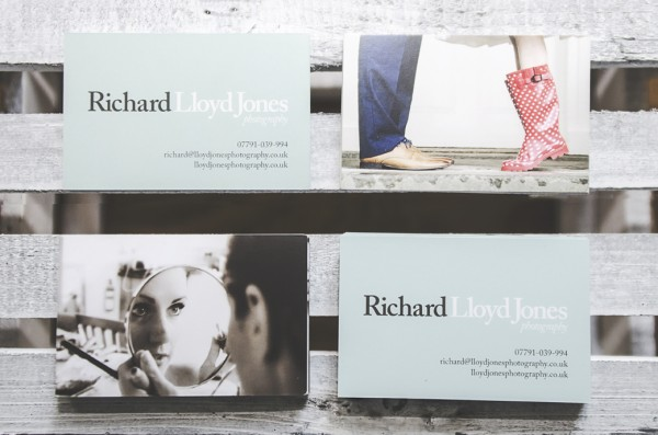 Richard Lloyd Jones Photography stylish business cards