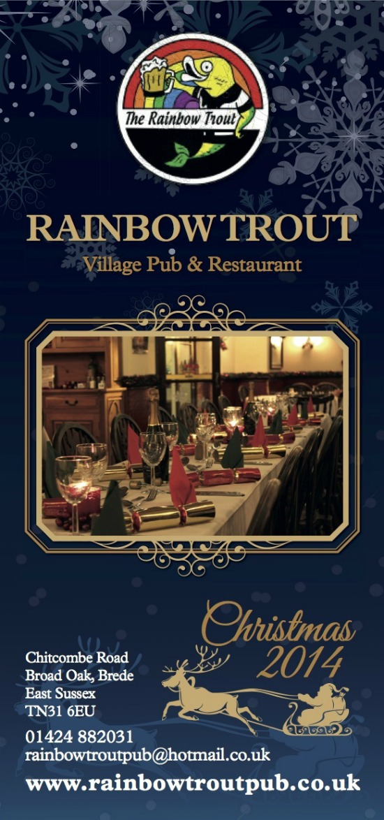 Rainbow Trout Pub leaflet by Solopress