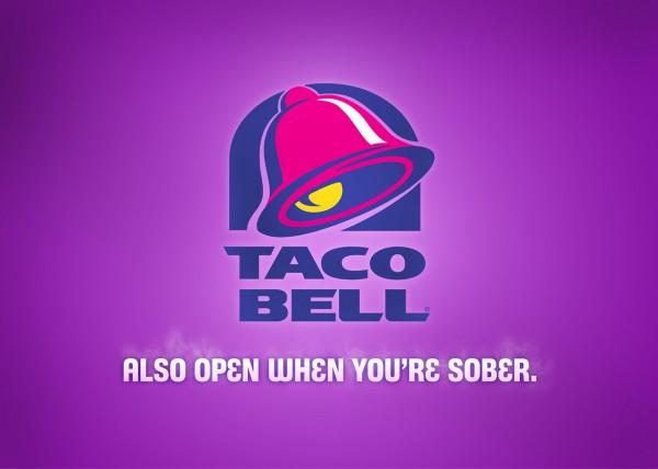 Taco Bell honest slogan