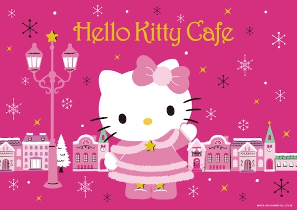 In Tokyo eat designer food at the Hello Kitty Cafe