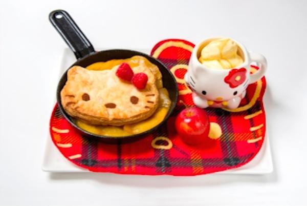 Hello Kitty Cafe pie