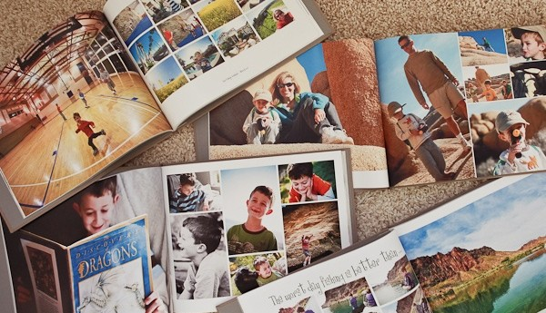perfect bound brochure photo books