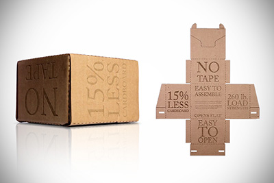 the rapid packing container packaging for online sales