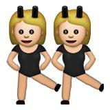 bunny girls emoji meanings