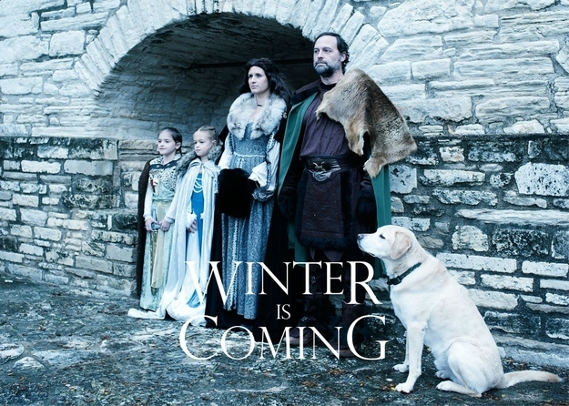 game of thrones creative and funny christmas card ideas