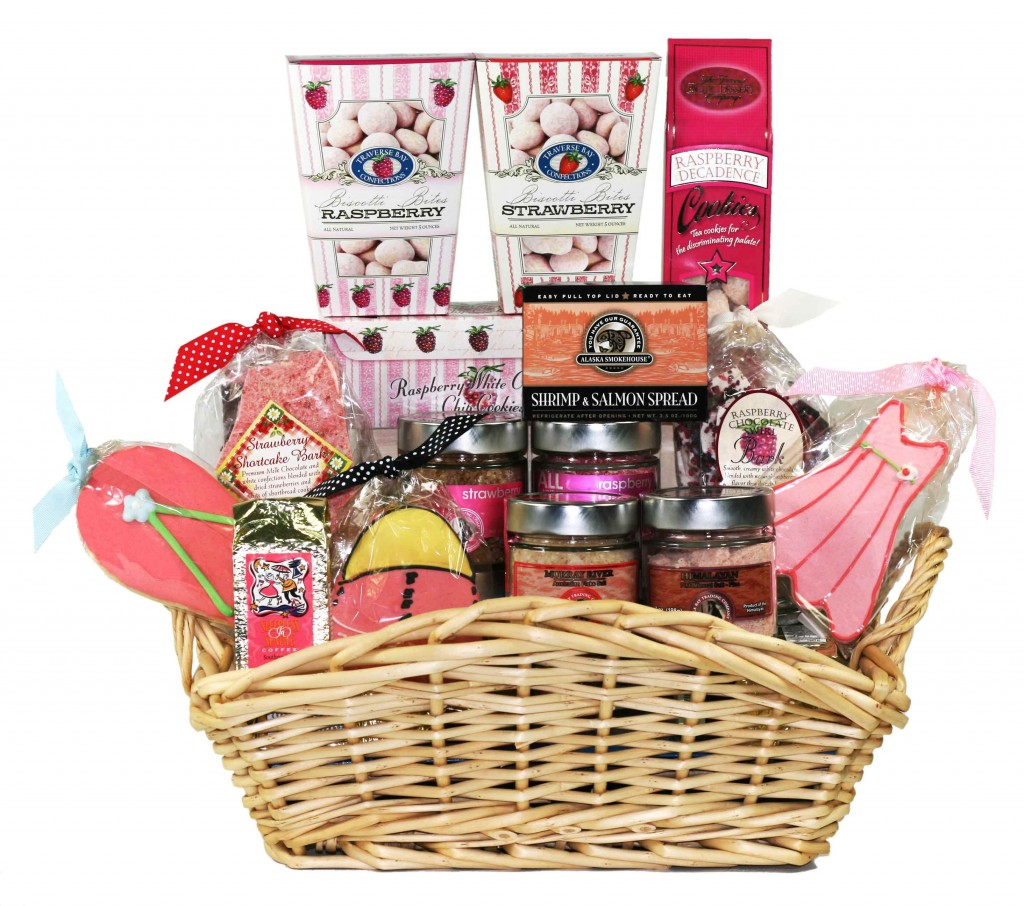 pink themed ideas for marketing your gift basket business