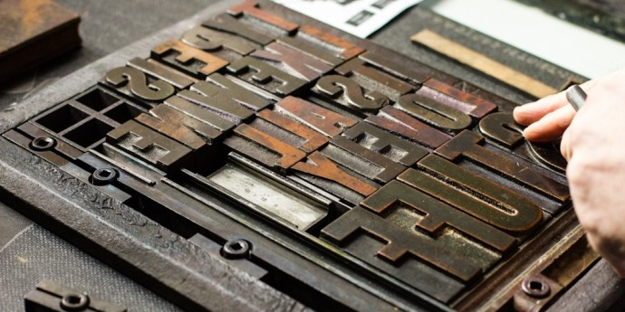 letterpress typefaces