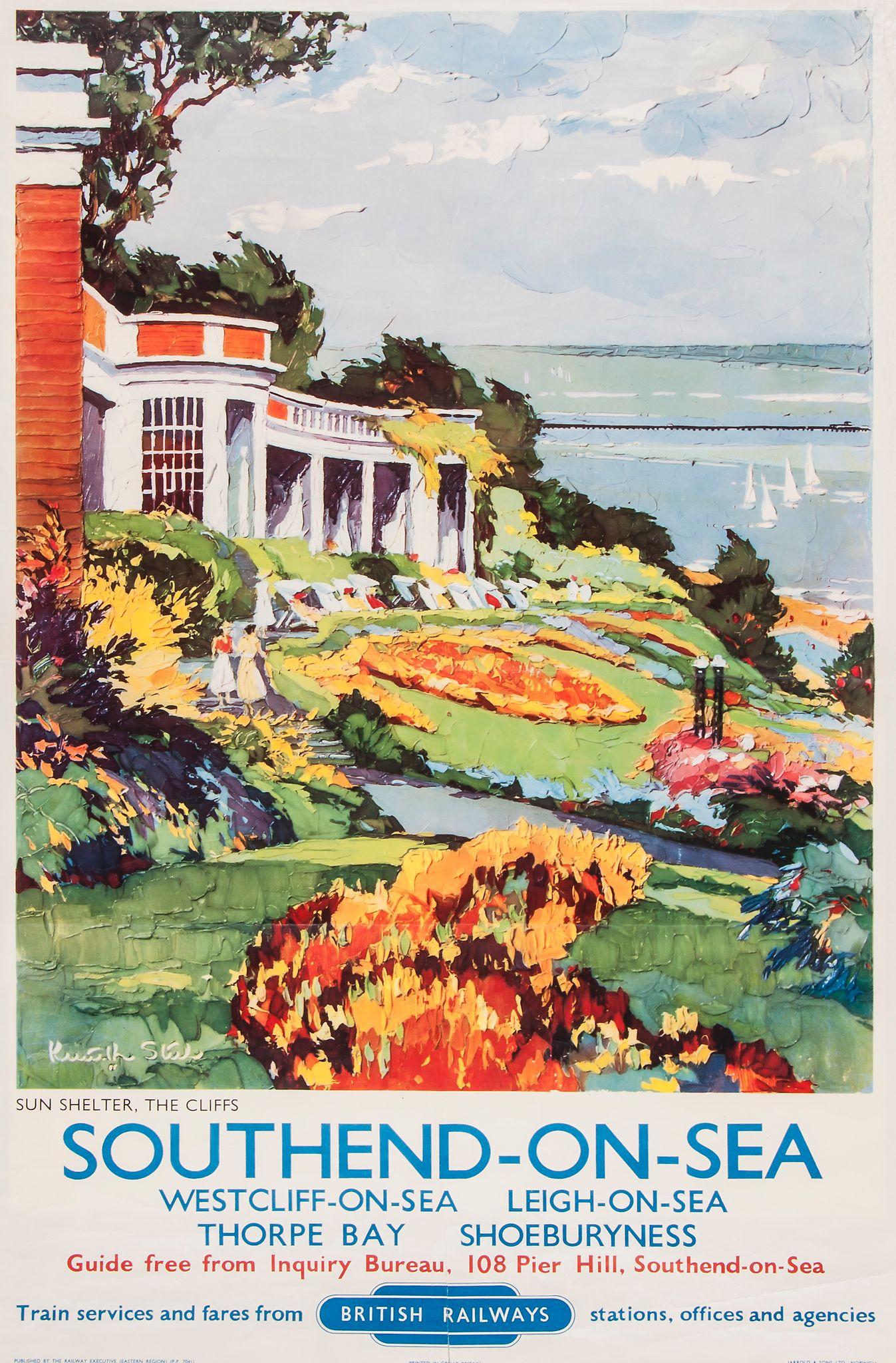 Southend-on-Sea Seaside Poster