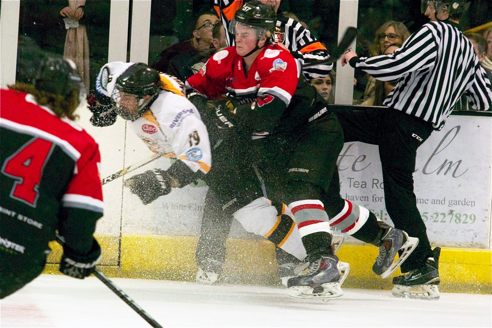 Cheiftains v Raiders Ice Hockey