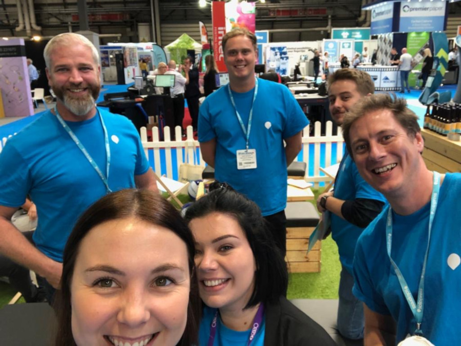 Solopress Team at The Print Show 2019
