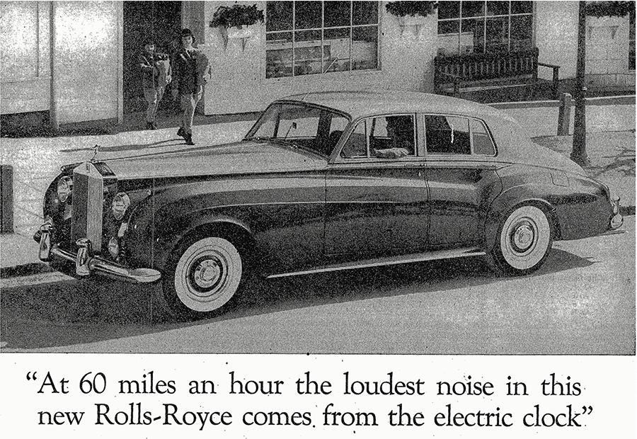 Rolls Royce Ogilvy Ad
