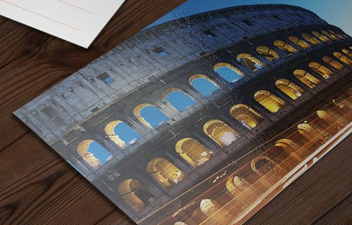 400gsm Gloss Laminated Postcards