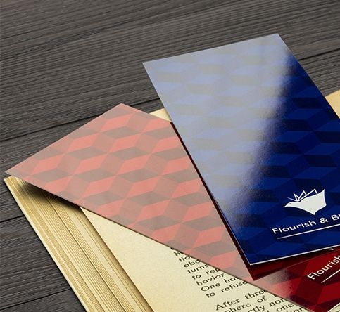 400gsm Gloss - Laminated Both Sides Bookmarks