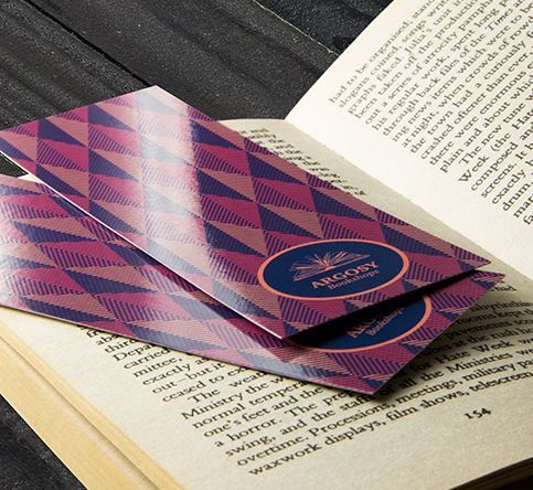 400gsm Gloss - Laminated One Side Bookmarks