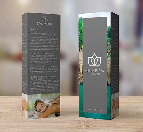 350gsm Gloss Table Talkers