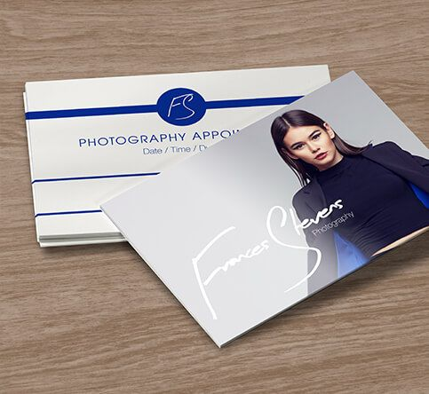 400gsm Gloss Laminated Appointment Cards