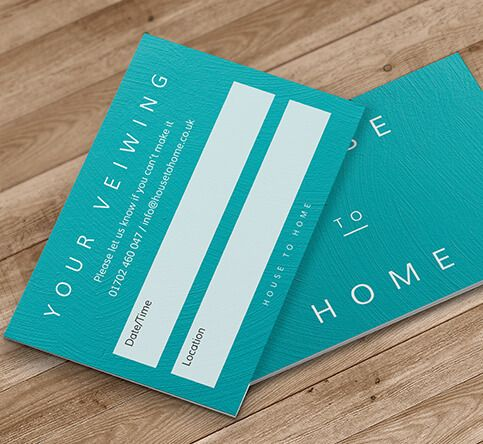 400gsm Matt Laminated Appointment Cards