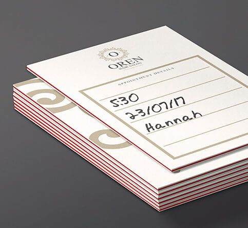 810gsm Triple Layer Appointment Cards