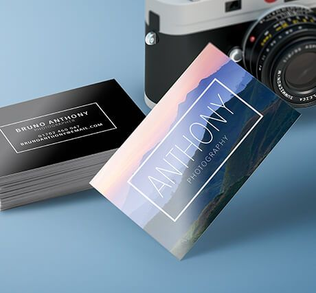 400gsm Silk Gloss Laminated Business Cards