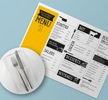350gsm Gloss Placemats