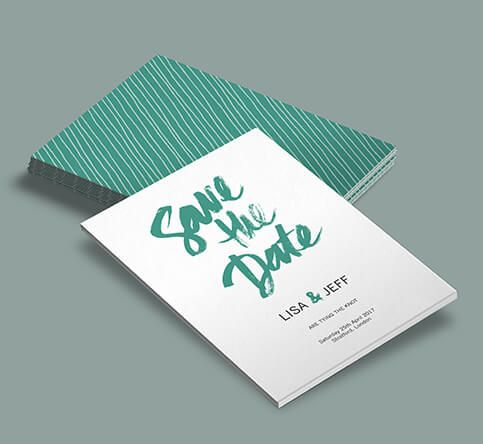 380mic Pulp Save the Date Cards
