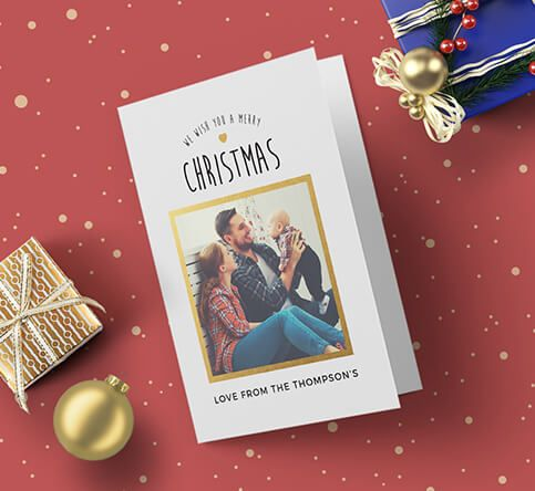 350gsm Silk Christmas Cards