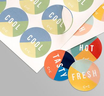 Circle Sticker Sheets Stickers & Labels