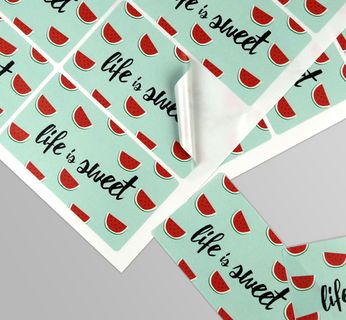 Rectangle Sticker Sheets Stickers & Labels