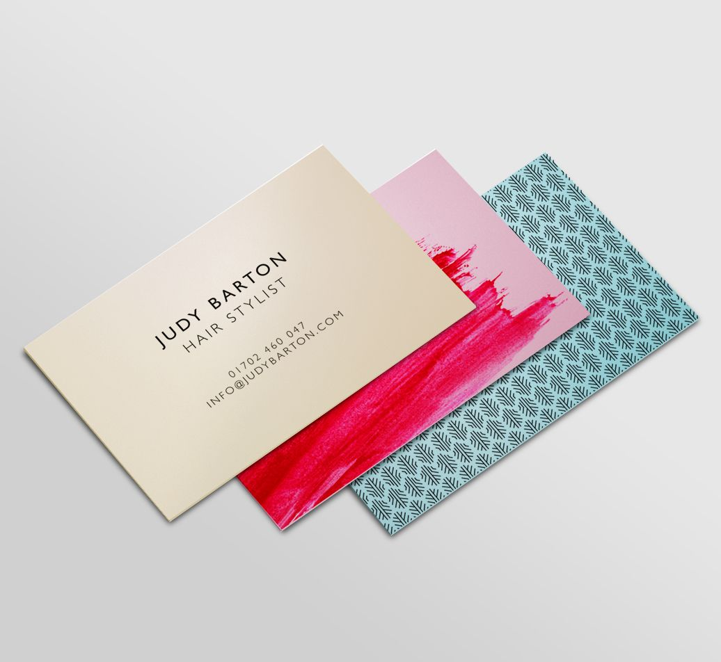 Metallic Business Cards