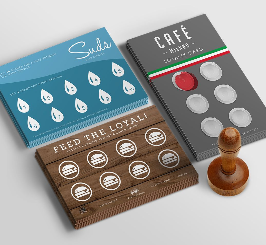 Loyalty Cards Business Cards